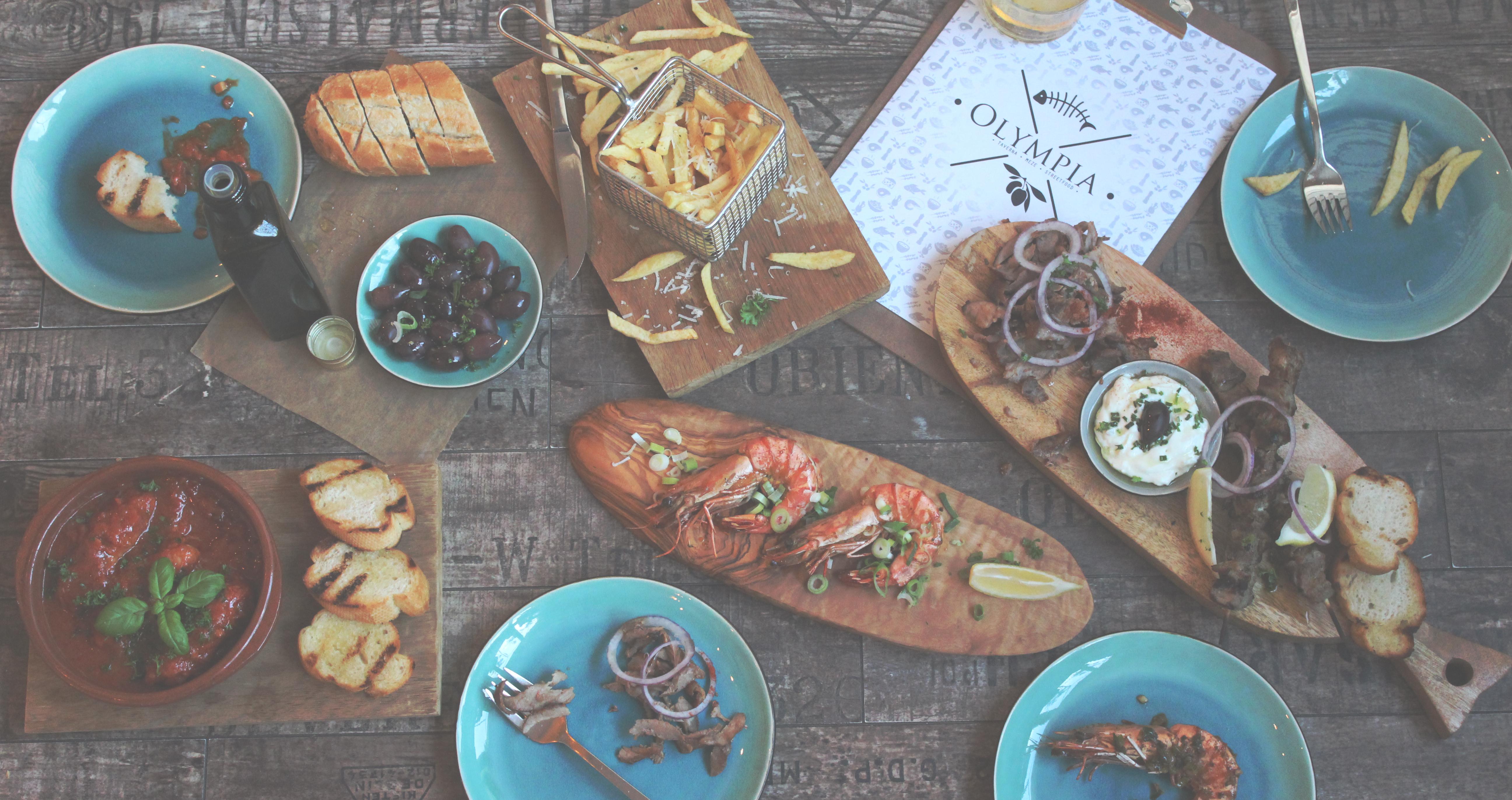 Traditioneel Grieks restaurant